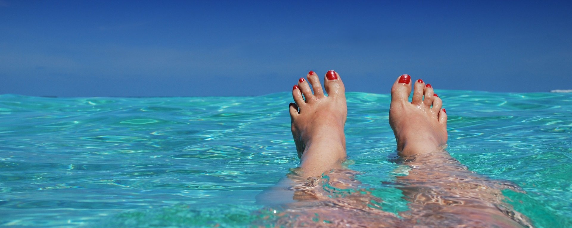 SPABLUE HOLIDAY BEACH FEET